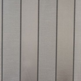 Lynton Stripe - Taupe - Fabric made from viscose and polyester with a subtle wide and narrow vertical stripe design in three shades of grey