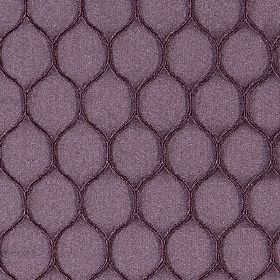 Neon - Aubergine - A simple, stylish wavy line pattern covering rich grape coloured polyester and lycra blend fabric