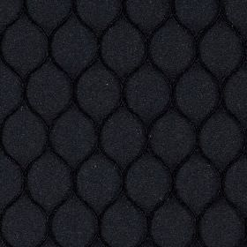 Neon - Black - Polyester and lycra blend fabric made in black and very dark grey, featuring a simple, stylish wavy line design