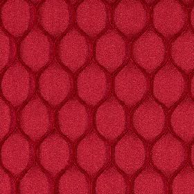 Neon - Rosso - Polyester and lycra fabric in a rich claret colour, with burgundy coloured wavy lines making up a simple, stylish design