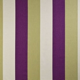 Bali - Grape - Fabric made from 100% cotton, featuring wide vertical stripes in dark red, beige and chalk white