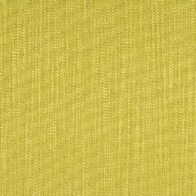 Anola - Daffodil - Fabric made from cotton, viscose and linen in a bright citrus colour, woven with a few subtle threads in light cream