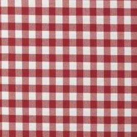 Berta Ruta - Red and#38; White - IKEA red and white plaid fabric