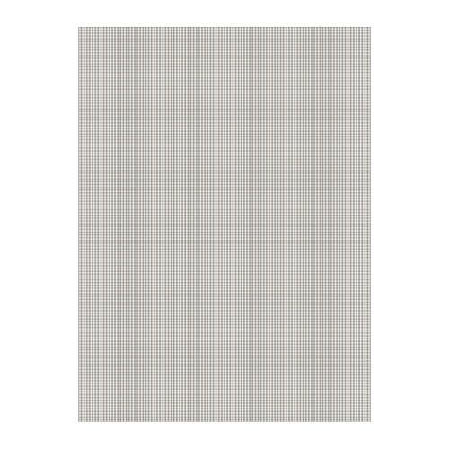 Berta Ruta - Small Check Grey - Fabric printed with a pattern of miniscule grey and white checks