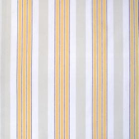 IKEA - Berit - White, Yellow And Grey Stripes