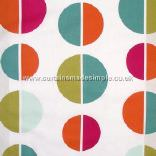IKEA - Elsa - Large Light Blue, Turquoise, Orange, Cerise and Green Circles