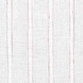 Helford - Natural - Natural linen fabric with natural coloured stripes