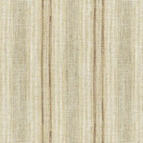 Jura Stripe - Natural - Grey fabric with natural colour stripes