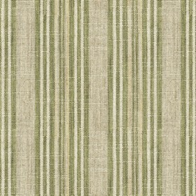 Jura Stripe - Sage - Grey fabric with sage stripes
