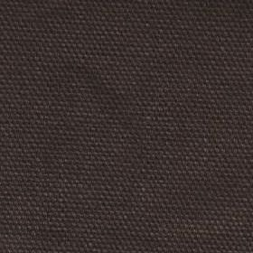 Kensington - Brown - Plain cotton fabric with dark brown colour