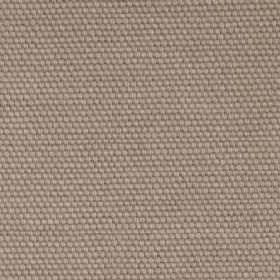 Kensington - Hessian - Plain cotton fabric with taupe colour