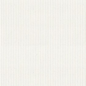 Lining Stripe - Cream - Beige cotton fabric with cream stripes