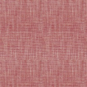 Newbury Hopsack - Peony - Plain fabric with pink colour