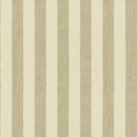Norfolk Stripe - Cream - Cream cotton fabric with beige stripes