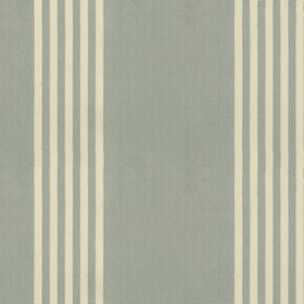 Oxford Stripe - Mint - Mint cotton fabric with natural coloured stripes