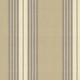 Panama 2 - Cream - Beige cotton fabric with red, indigo and cream stripes