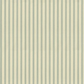 Ticking 01 - Mint - Natural cotton fabric with mint stripes