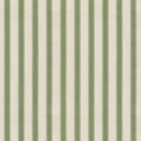 Ticking 2 - Sage - Natural cotton fabric with sage stripes
