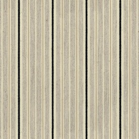 Vintage Stripe 4 - Black - Grey cotton fabric with light grey and black stripes