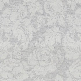 Wildflower - Grey - Ligh grey cotton fabric with a modern grey flower pattern