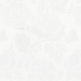 Wildflower - Ivory - Natural cotton fabric with a modern ivory flower pattern