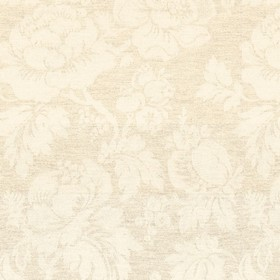 Wildflower - Natural - Natural cotton fabric with a modern natural flower pattern