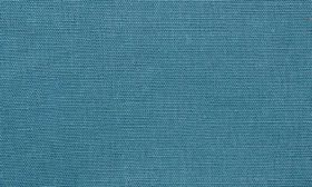 Chelsea - Airforce - Linen fabric in a plain, deep turquoise colour