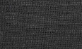 Chelsea - Charcoal - Plain black linen fabric