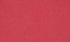 Chelsea - Peony - Bright red fabric made from linen
