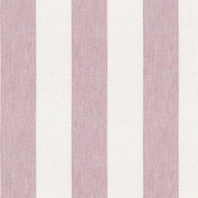 Devon Stripe - Pink - Light pink and white striped fabric made from cotton