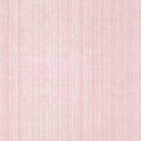 Fulham - Pink - Light, dusky pink coloured linen fabric with a design of patchy grey stripes which are placed at shortening intervals