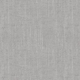 Arran - Dark Grey - Viscose and linen blend fabric speckled in light grey and white