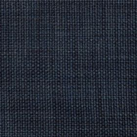 Montrose - Dark Navy - Fabric woven from a blend of viscose and linen in a very dark midnight blue colour