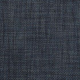 Perth - Dark Navy - Very dark midnight blue coloured fabric woven from a combination of viscose and cotton