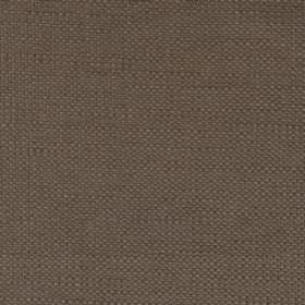 Campbell Union - Mushroom - Plain linen fabric with dark brown colour