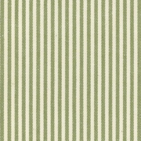 Candy Stripe - Sage - Beige cotton fabric with sage stripes