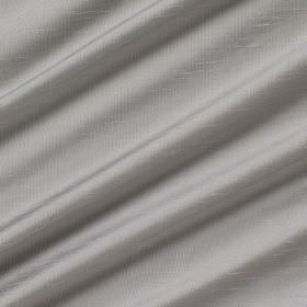Astor - Titanium - Swathes of silver 100% polyester fabric