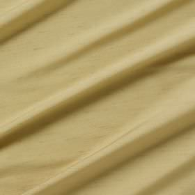 Astor - Peanut - Butter coloured folds of 100% polyester fabric