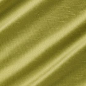 Astor - Sour Green - Light apple green coloured 100% polyester fabric with a slight shine which has been arranged in folds