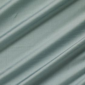 Astor - Surf Spray - Swathes of slightly shiny duck egg blue coloured 100% polyester fabric