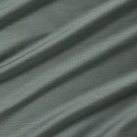 Astor - Shale Green - Dark blue-grey coloured fabric arranged in folds and made from 100% polyester