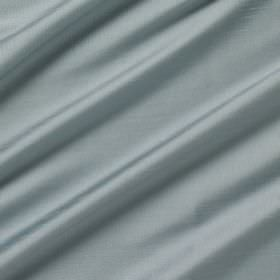 Astor - Venice - Duck egg blue coloured 100% polyester fabric which has a slight shine and which has been arranged in folds
