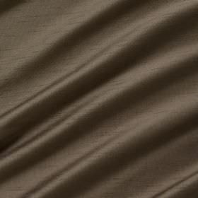 Astor - Bourbon - 100% polyester fabric in dark brown swathes