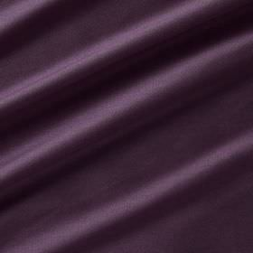 Astor - Calla Lily - Aubergine coloured 100% polyester fabric arranged in swathes