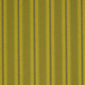 Astor Stripe - Sour Green - Kiwi green, lime green and dark grey stripes printed vertically on fabric made from 100% polyester