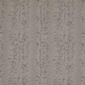 Cobra Stripe - Shadow - Blurred dark grey speckles on a light grey fabric made from polyester, cotton and silk