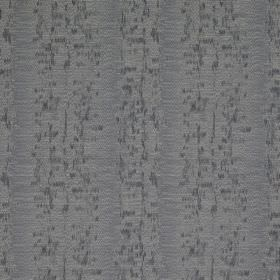 Cobra Stripe - Hurricane - Fabric made from a combination of polyester, cotton and silk in mid-grey, featuring rows of blurred speckles