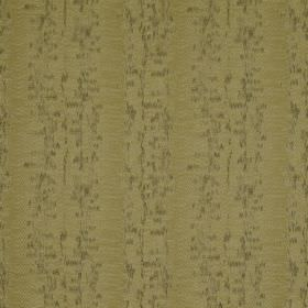 Cobra Stripe - Oasis - Olive green coloured fabric made from polyester, cotton and silk, featuring some areas of darker, blurred speckles