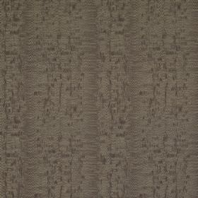 Cobra Stripe - Serpent - Various shades of dark brown making up a polyester, cotton and silk blend fabric with areas of blurred speckles