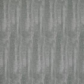 Aurora Silk - Grey Wolf - Fabric made from a blend of polyester and silk with patchy colouring in a light and a dark shade of grey